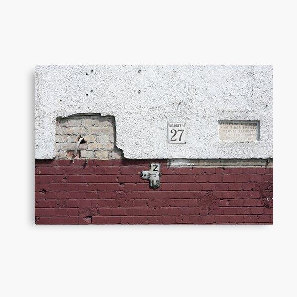 Margit Street 27 Canvas Print