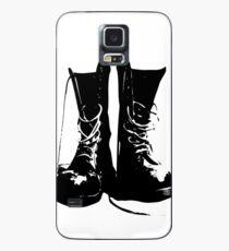 Punk Rock Combat Boots Doc Martens Case/Skin for Samsung Galaxy