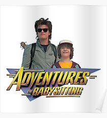 Stranger Things Steve and Dustin's Adventures in Babysitting Poster