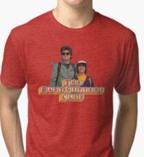 Stranger Things Steve and Dustin The Babysitter's Club Tri-blend T-Shirt