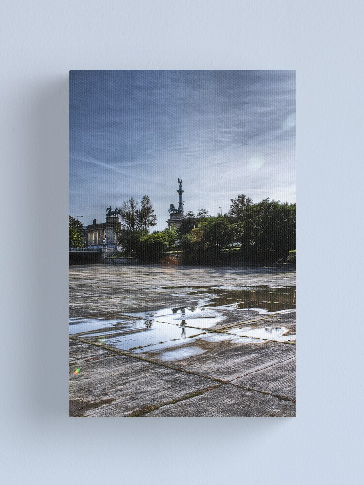 Alternate view of Near the City Centre Canvas Print