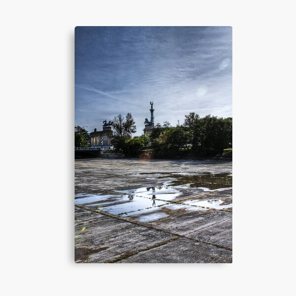Near the City Centre Canvas Print