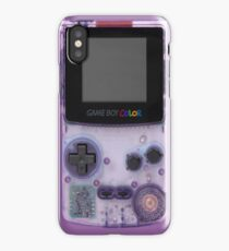 Game boy Color iPhone Case/Skin