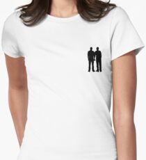 Gay Holding Hands Women's Fitted T-Shirt