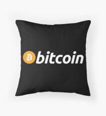 BITCOIN 2 Throw Pillow