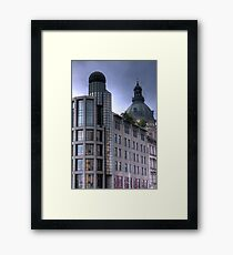 Two Domes Framed Print