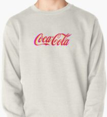 Fringed Coca Cola Sign Pullover