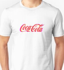 Fringed Coca Cola Sign Unisex T-Shirt