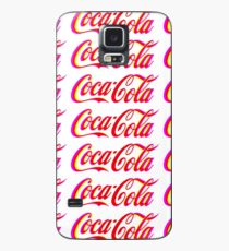 Fringed Coca Cola Sign Case/Skin for Samsung Galaxy
