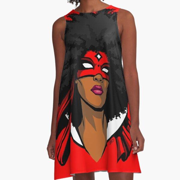FREEDOM GRINDERS - AFRODITE A-Line Dress