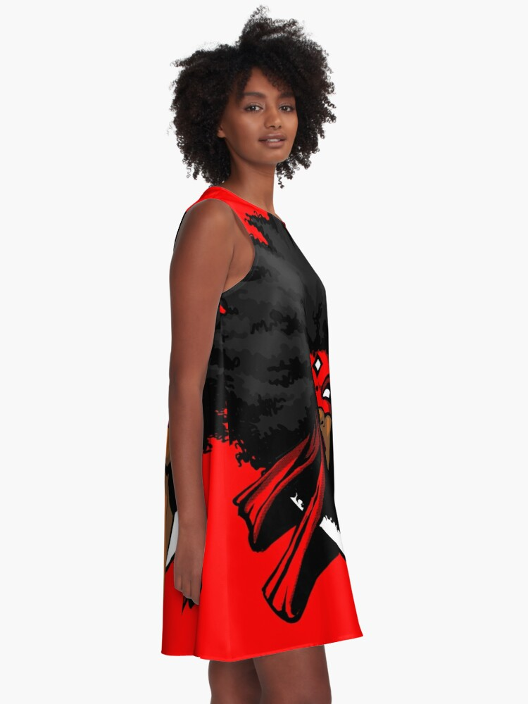 Alternate view of FREEDOM GRINDERS - AFRODITE A-Line Dress