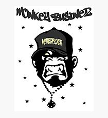 Motherfucker - Monkey Businez Photographic Print