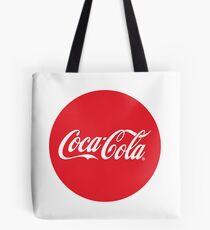 Coca-Cola Bottle Cap Design Tote Bag