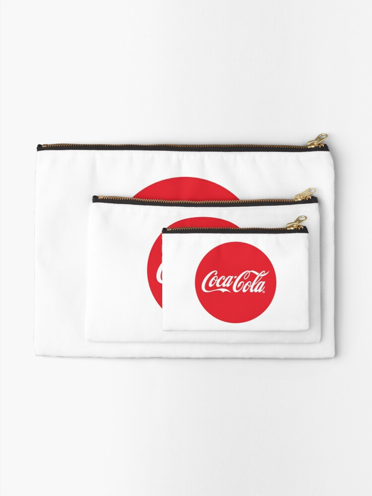 Coca-Cola Bottle Cap Design | Zipper Pouch