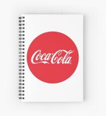 Coca-Cola Bottle Cap Design Spiral Notebook