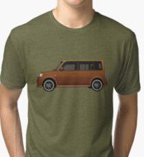 Vectored Boxcar Copper Tri-blend T-Shirt