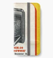 Vintage Kodak! The Famous Folder Six-20 iPhone Wallet/Case/Skin