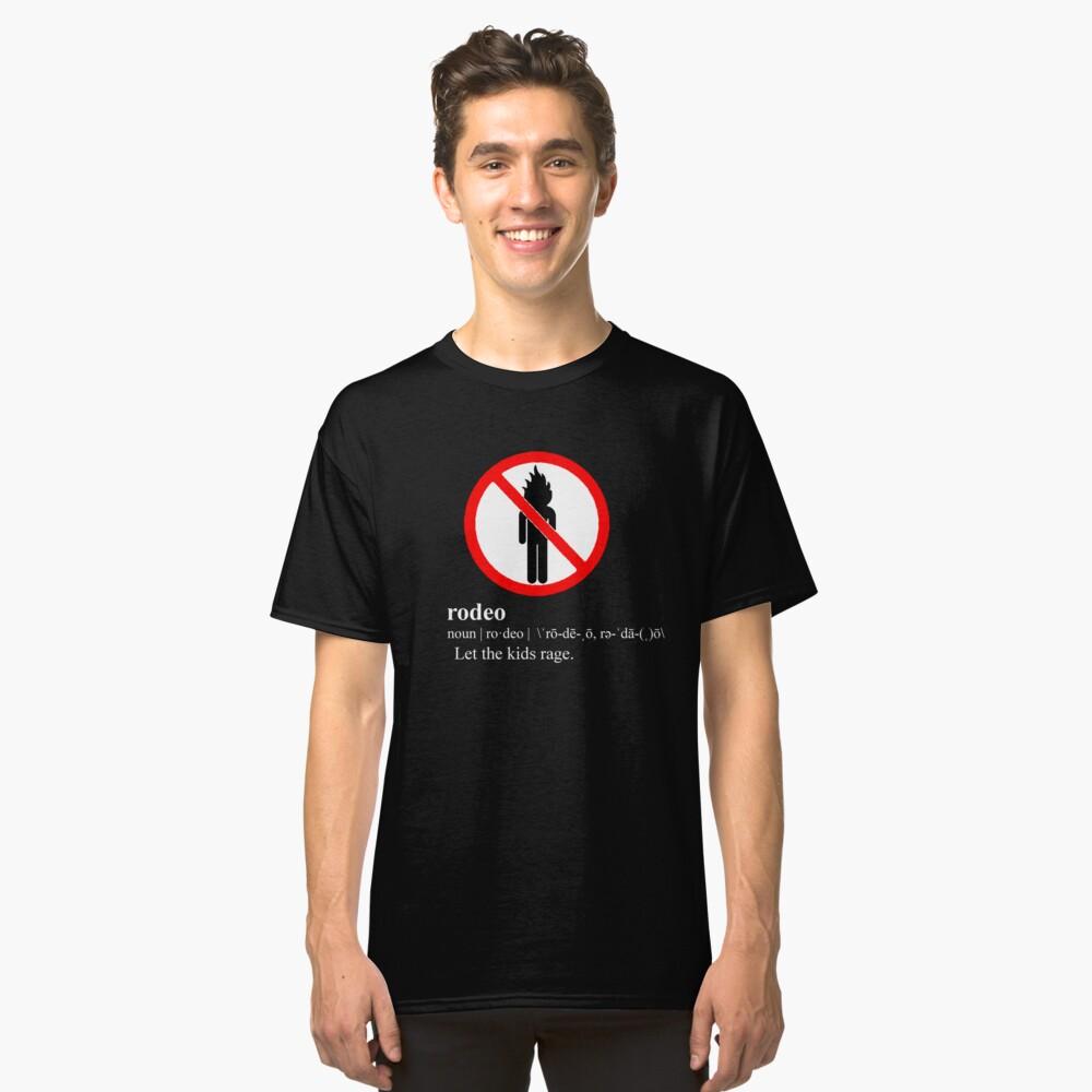 Travi $ Scott - definición de rodeo Camiseta clásica