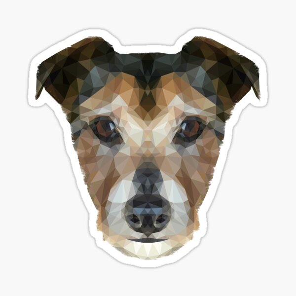 The Jack Russell Sticker