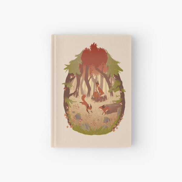 Fox Family - Fall Hardcover Journal