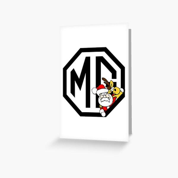 MG Xmas Santa Greeting Card