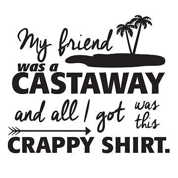 All I got was this crappy shirt (Arrow themed design) by rainingonsunday