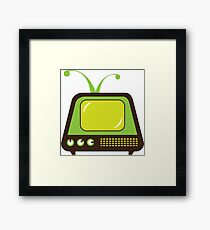 Monster TV Framed Print