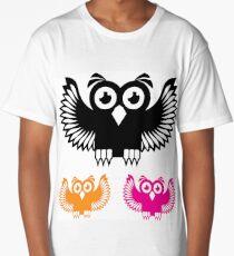 Vector Owl Long T-Shirt