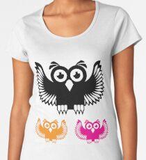 Vector Owl Women's Premium T-Shirt