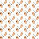 Kawaii Gingerbread - Christmas pattern by juiceforb