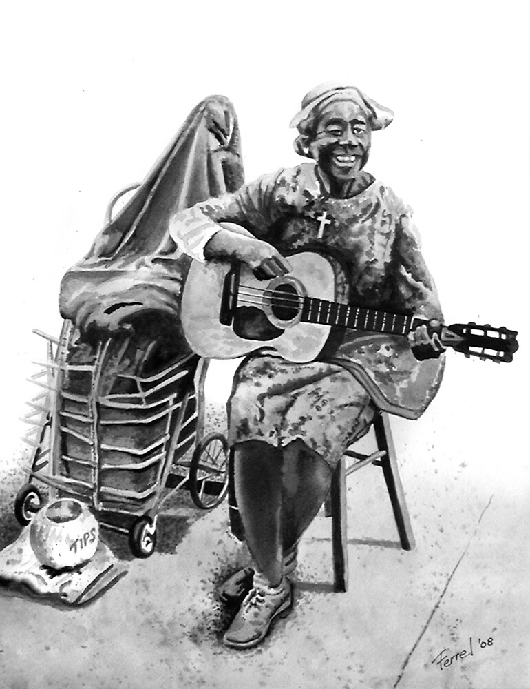Busker by ferrel cordle