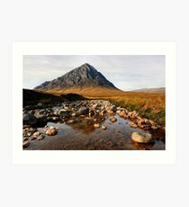 Buchaille Etive Mor Glencoe Scotland Art Print