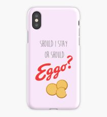 Should I stay or? iPhone Case/Skin