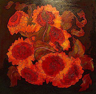 SUNFLOWERS by Linda Arthurs