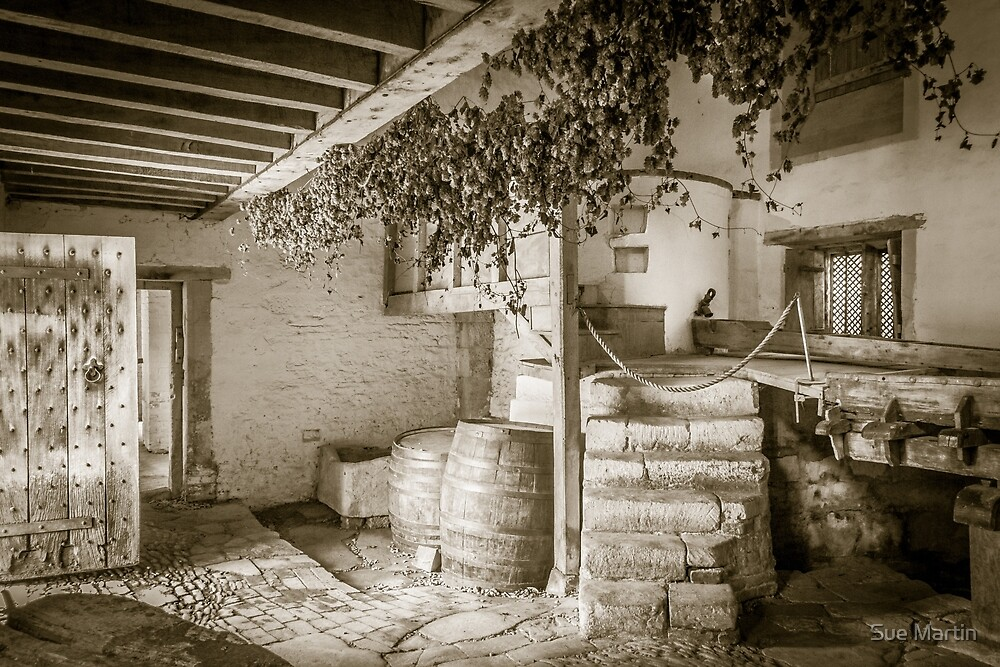 Medieval Brewery by Sue Martin