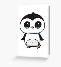 Pinguin Greeting Card