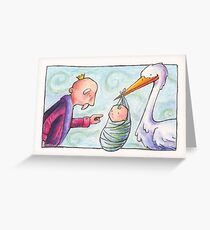 Baby Delivery Greeting Card