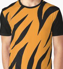 Tiger background #redbubble #printart #decor #buyart Graphic T-Shirt