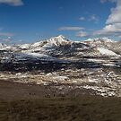 Panorama from the Mt Bierstadt,Colorado by MarcVDS