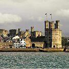 Caernarvon Castle by karenlynda