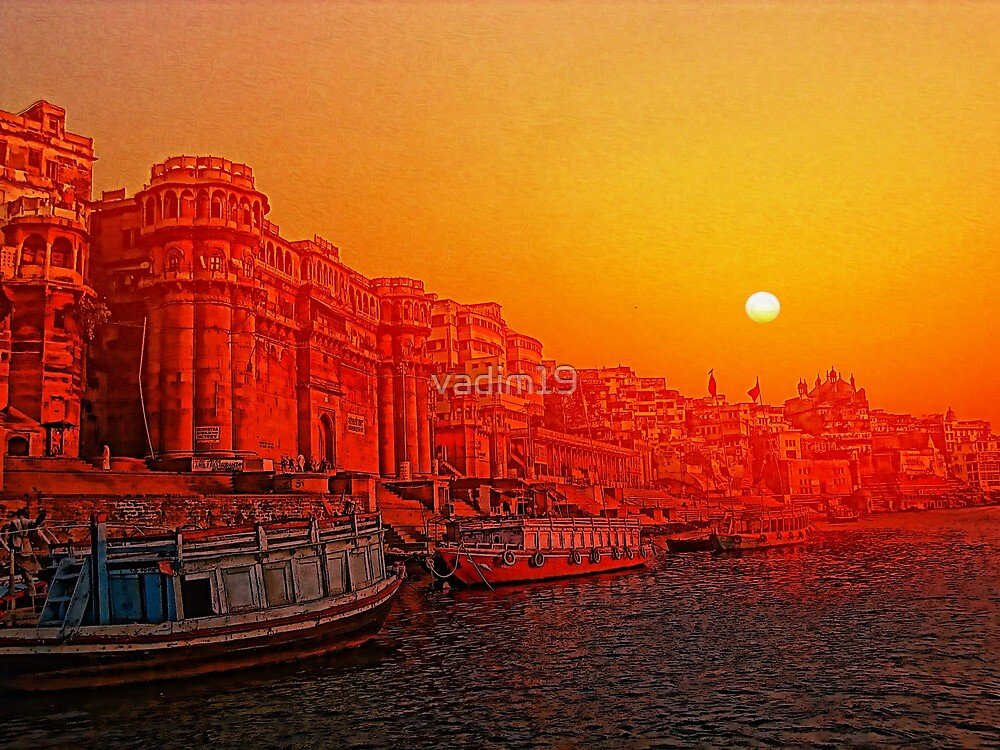 Varanasi, India. by vadim19