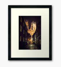 York Minster at Night Framed Print