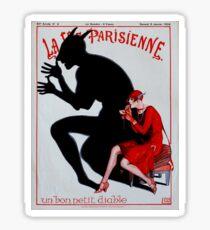 LA VIE PARISIENNE : Vintage French Magazine Cover Prints Sticker