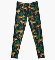 Safari Tiger Pattern by Andrea Lauren Leggings