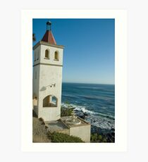 A view from Hotel Califia Art Print