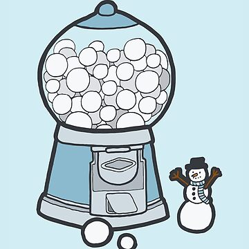 Snow Ball Gum Ball by evannave