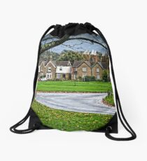 Village Green Drawstring Bag