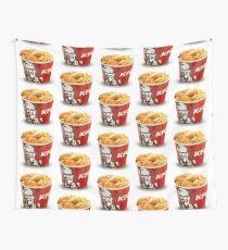 KFC Eimer wiederholt Wandbehang