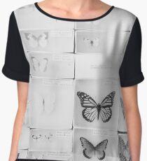Lepidopterology Women's Chiffon Top