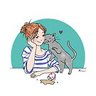 Mug Cat by Rowan Lee-Foyster